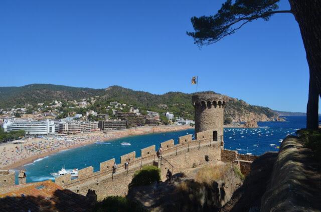 Tossa de Mar., Catalonia