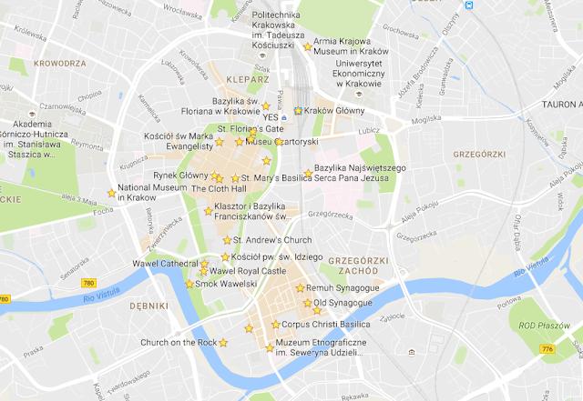 qui sont les principales attractions de Cracovie