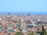 Barcellona vista dall'alto