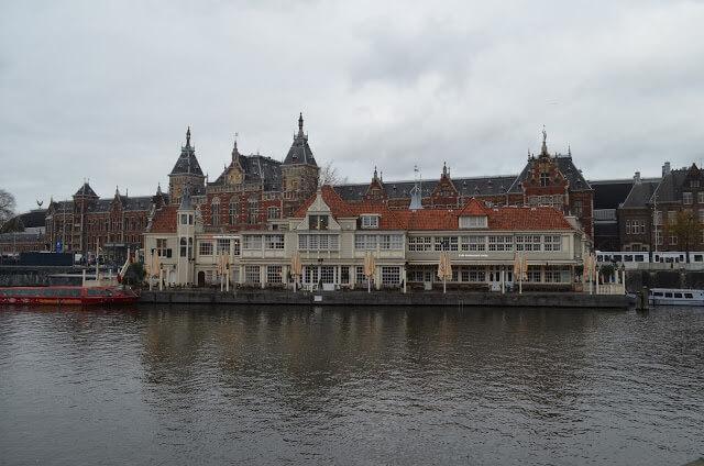 Amsterdam passeio de barco