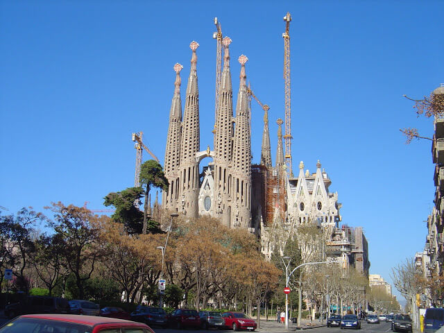 obras de gaudi em barcelona