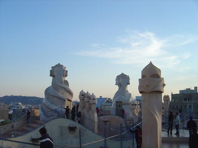 objetos orgânicos que inspiravam Gaudí