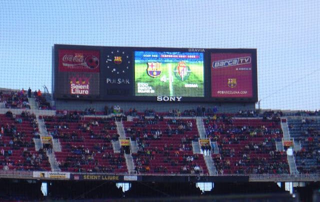Onde comprar tickets para jogo do Barcelona?
