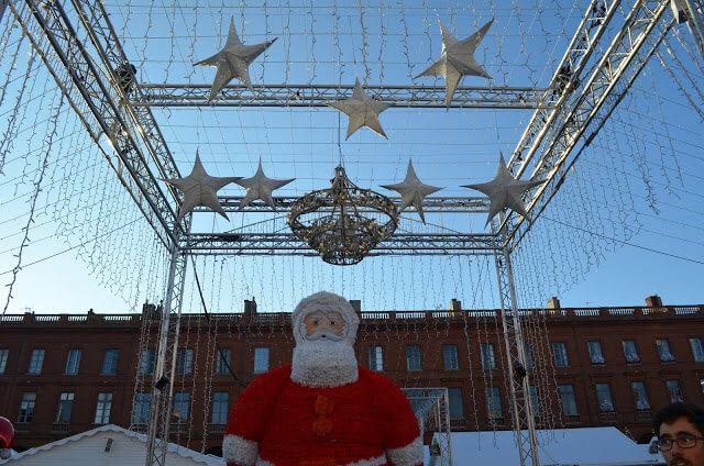 Feira de natal de Toulouse