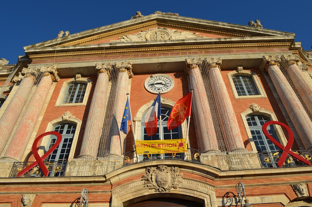 Capitole square in Toulouse