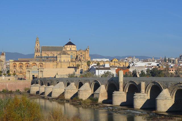 Ponte romana de Cordoba na Espanha