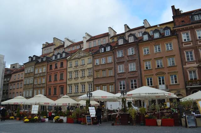 Mercado Antigo de Varsovia