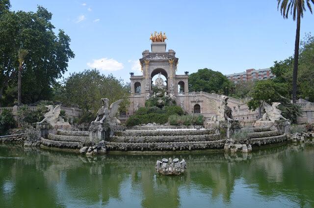 Parque Ciutadella et Arc de Triomphe
