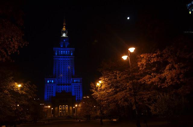 Palácio de Cultura e Ciências Simbolo da cidade de Varsovia