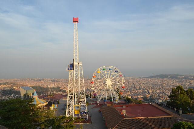 Voyager avec des enfants à Barcelone