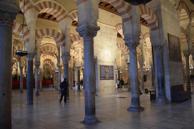 Arcos da Mesquita Catedral de Córdoba