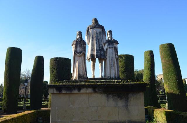 Reis Cristianos Isabel I e Fernanda II, reis da Espanha