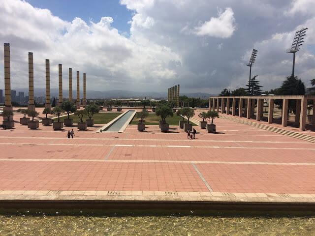 Parc olympique olympics 1992