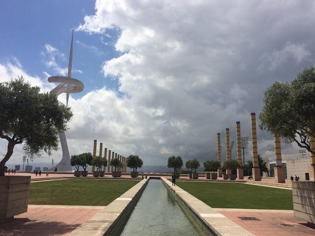 Parque Olímpico das olimpíadas de 1992