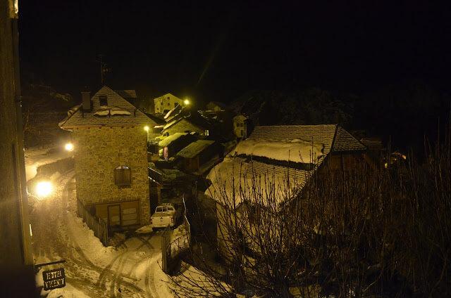 Panticosa de noite