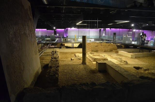 Antiga Cidade Romana em Sevilha na Espanha