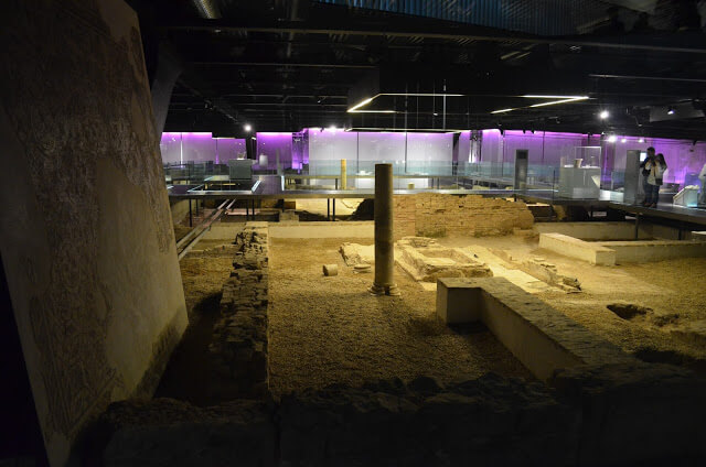 Antica città romana di Siviglia in Spagna