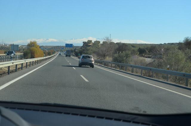 Estrada para Granada