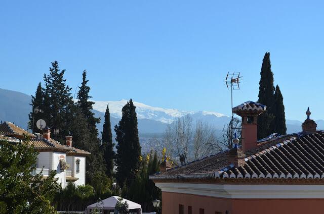 Hotel com vista para Sierra Nevada