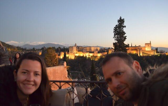 Granada e Sierra Nevada lugares encantadores