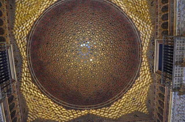 Estilo árabe do Alcázar Real de Sevilha