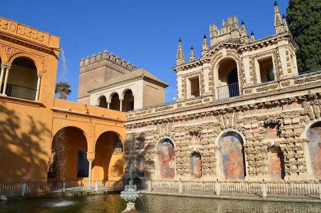 Jardins Alcázar Real de Sevilha