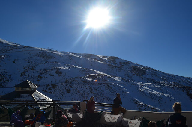 Restaurante de la estación de esquí de Sierra Nevada