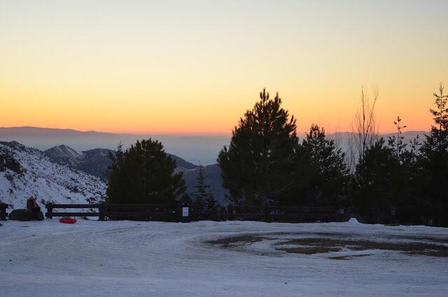 Para puestas de sol Sierra Nevada