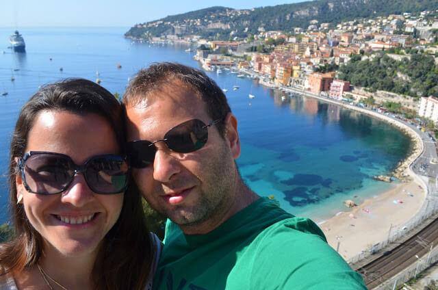 Villefranche die schöne Stadt Côte d'Azur