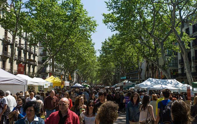 Festa de Sant Jordi em Barcelona