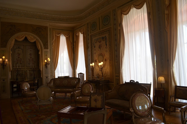 Inside the Villa Ephrussi de Rothschild Palace