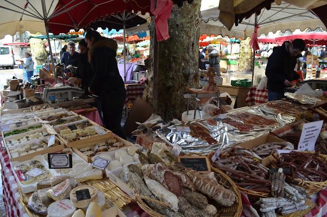 street fair in Aix-en-Provence