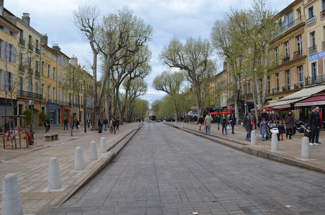 Avenida Cours Mirabeau