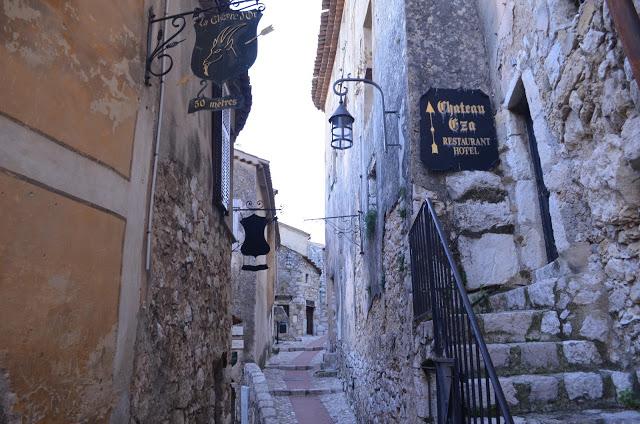 strade medievali di Eze