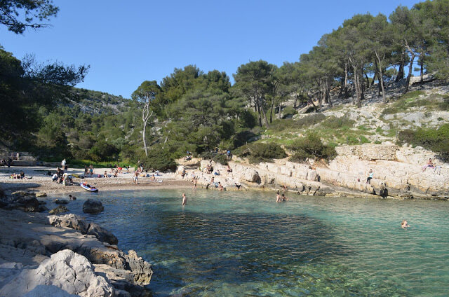 spiaggia Calanque Port Pin