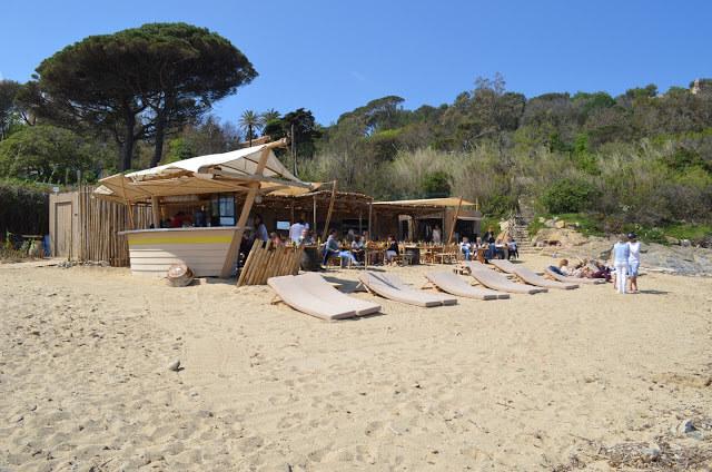 Costa Azzurra, Beach Granier