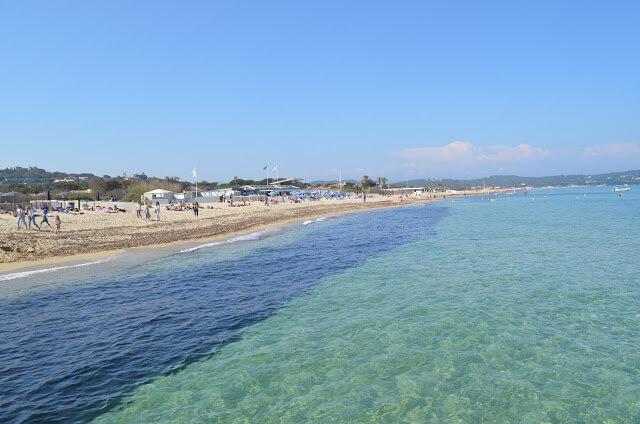 Riviera in Francia, spiaggia di Pampelonne