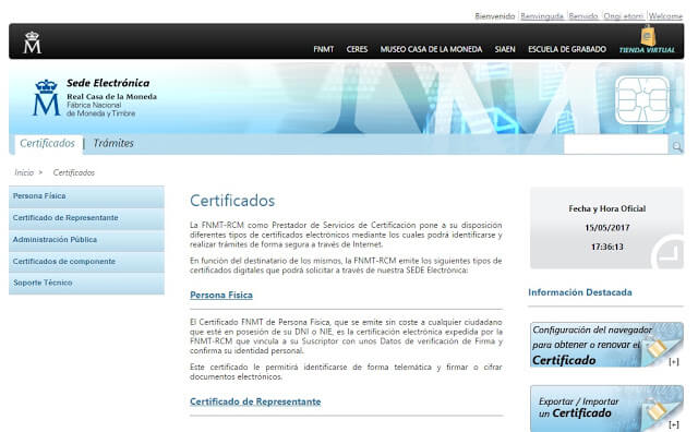 Como solicitar o Certificado Digital para enviar a solicitação da cidadania espanhola?