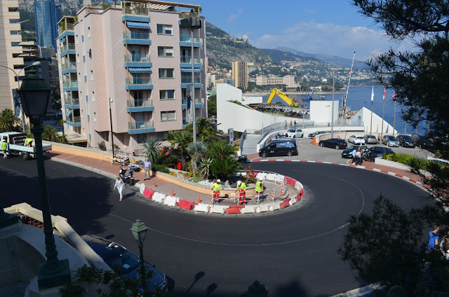 Famosa curva da Formula 1 de Monaco