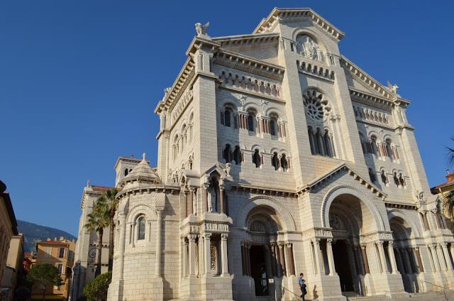 Catedral de Mônaco, chamada de Catedral de São Nícolas