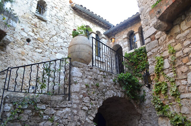 cidade medieval de Éze