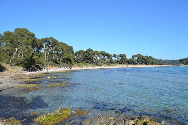 Praia de L´Estagnol na França