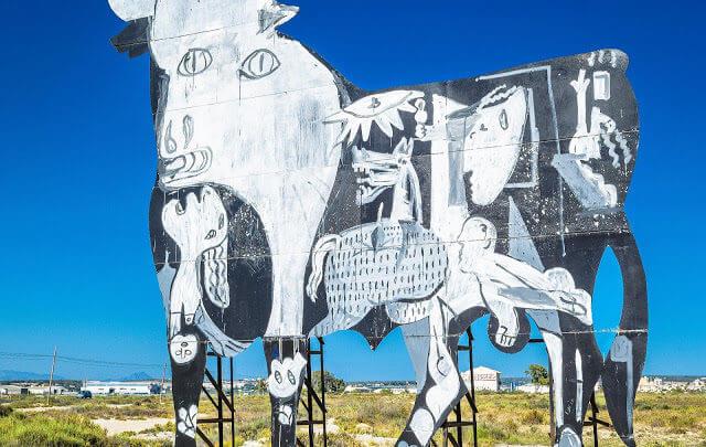Museu do Picasso em Málaga, Barcelona e Antibes