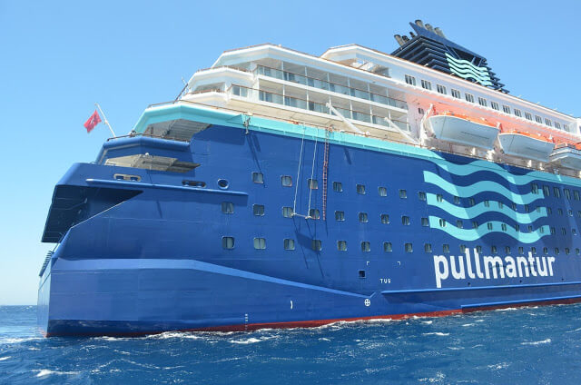 Pullmantur Cruises in Greece