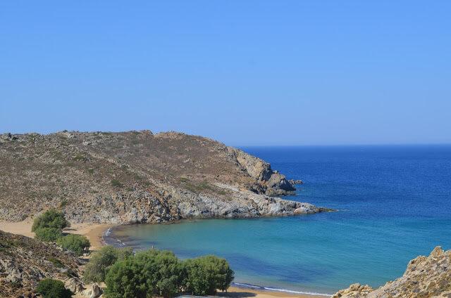 Пляж Псили Амос