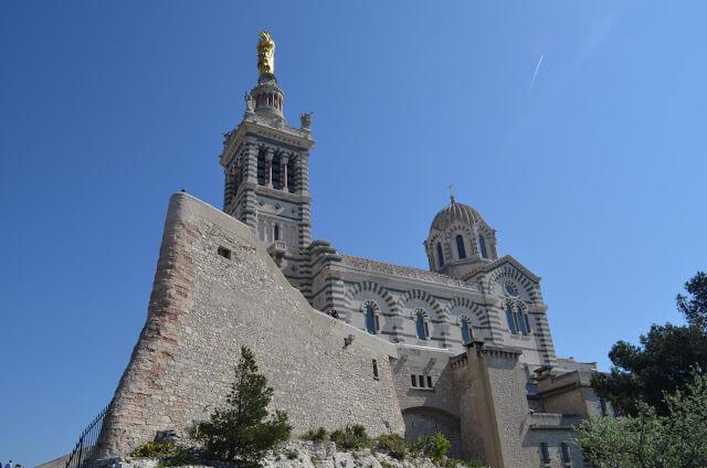 catedralNotre-Dame de La Garde