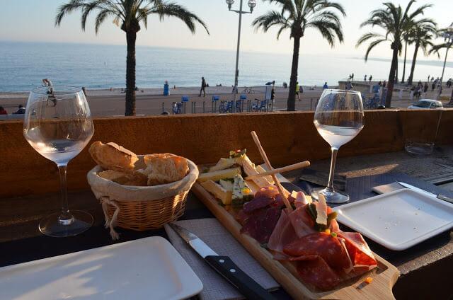 Vinho e Queijos da cidade de Nice
