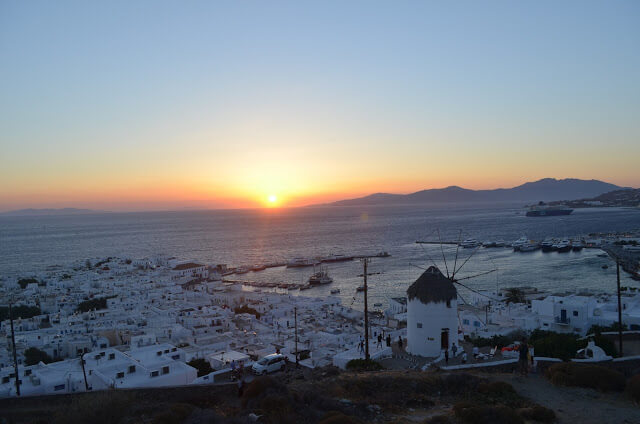 For sunsets Mykonos
