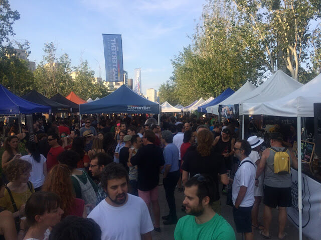 6Rd party Brew Poblenou in Barcelona