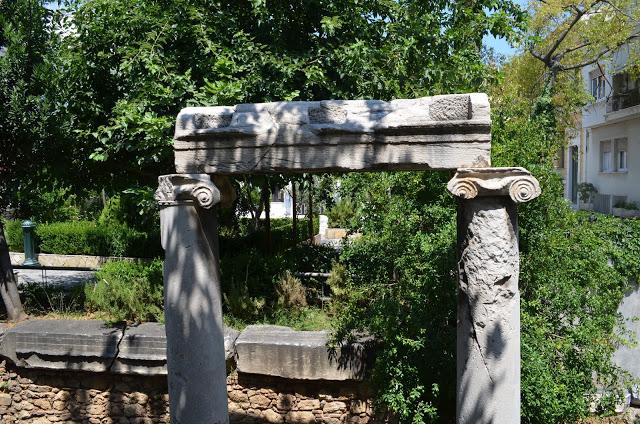 Ruinas em Atenas